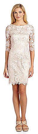 Eliza J Lace Shift Dress on shopstyle.com