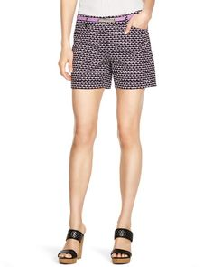 White House | Black Market Geometric Printed Shorts  #whbm