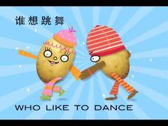Con este vídeo podéis aprender las partes del cuerpo en chino... Jingle Bilingual potato Chinese