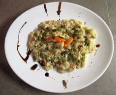 FORNELLI IN FIAMME: RISOTTO WITH SCALLOPS, KING PRAWNS AND FRESH GINGE...