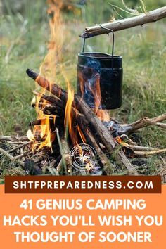 A great collection of camping hacks that could make your camping trips much more memorable! Camping Hacks, Wish, Thinking Of You, Thoughts, Thinking About You, Camping Tricks, Camping Tips Tricks, Ideas, Camping Tips