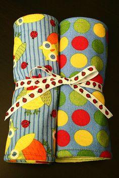 Tried & True Tutorial: Baby Burp Cloths
