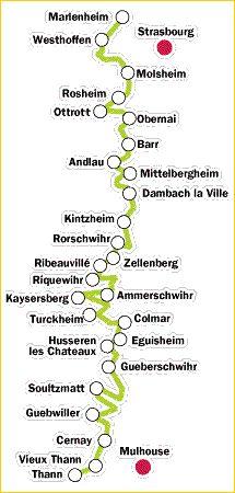 Alsace -- Wine Route -- philosopher and humanitarian Albert Schweitzer's hometown is KAYSERSBERG in Alsace.
