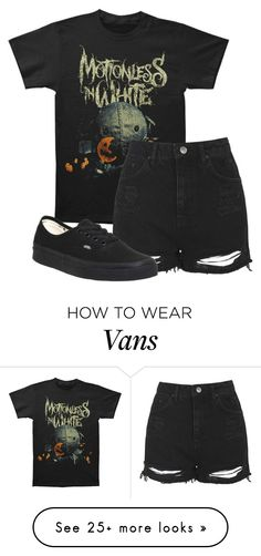 """Untitled #592"" by bands-are-my-savior on Polyvore featuring Topshop and Vans"