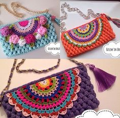 Crochet Cowel - Cotton Slipper with Flip Flop Soles Crochet Wallet, Bag Crochet, Crochet Shell Stitch, Crochet Clutch, Crochet Handbags, Crochet Purses, Crochet Baby, Crochet Dollies, Crochet Tools