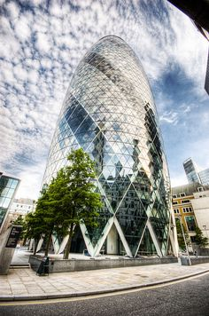 30 St Mary Axe - The Gherkin, London