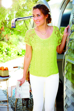 chartreuse + white = perfect for summer #style