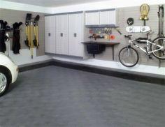 Garage Storage Ideas – Cabinets | Shelterness