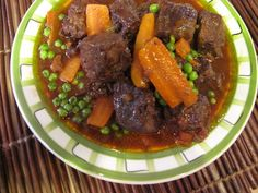 Stew from my electric pressure cooker. So easy . Pressure Cooker Stew, Electric Pressure Cooker, Pressure Cooking Recipes, Slow Cooker Recipes, Recipe Girl, One Pot Meals, Soup And Salad, Tasty Dishes, Casserole Recipes