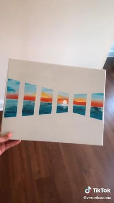 Small Canvas Paintings, Easy Canvas Art, Small Canvas Art, Easy Art, Simple Art, Mini Canvas Art, Diy Canvas, Easy Paintings, Canvas Painting Tutorials