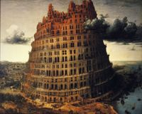 Pieter Bruegel the Elder, The tower of Babel, ca. 1556