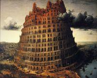 Pieter Bruegel the Elder, The tower of Babel, ca. 1556