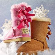 Take a look at the Fleecy Feet: Kids' Shearling Boots event on #zulily today!