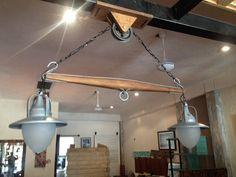 Beautiful Yoke suspended lamp