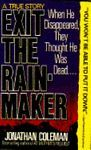 Exit The Rainmaker 1989 Jonathan Coleman Paperback Book True Story