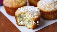 Almond Flour Muffins, Keto and Gluten Free | Healthy Recipes Blog