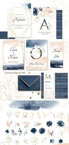 Watercolor collection – – The Best Ideas Wedding Stationery, Wedding Invitations, Print Design, Graphic Design, Design Art, Pattern Design, Photos Booth, Floral Bouquets, Invitation Cards