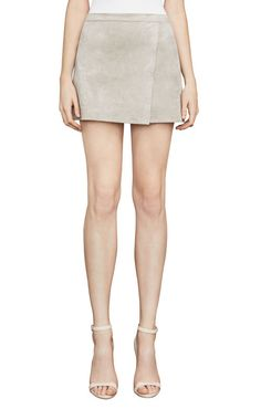 Sabrina Faux-Suede Wrap Skirt Mini Skirts, Fashion Outfits, Clothes For Women, My Style, Clothing, Outfits For Women, Tall Clothing, Clothes, Fashion Sets