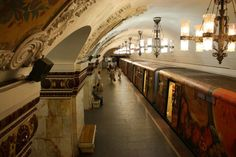 I lived in Moscow for almost a year from 1998 to One of the things I liked the most was visiting the different metro stations. In this post I want to share the ones I liked the most, those I consider the best metro/subway stations in Moscow. Moscow Metro, Metro Subway, Metro Station, Moscow Russia, Beautiful Buildings, Beautiful Architecture, Home Living, Eastern Europe, Travel Around The World