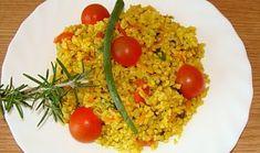 Bulgur i jako příloha Fried Rice, Risotto, Fries, Ethnic Recipes, Food, Bulgur, Eten, Meals, Stir Fry Rice