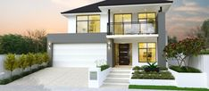 Webb & Brown-Neaves is an award winning Luxury Home Builder in Perth & WA. View our Custom Two Storey Homes Designs, find Display Homes & more. Contemporary House Plans, Modern House Plans, Modern House Design, Style At Home, Cheap Tiny House, House With Balcony, 2 Storey House Design, Storey Homes, Second Empire