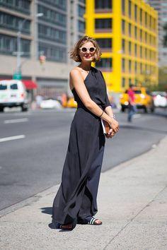 New York Spring 2015 Street Style - Street Style - Harper's BAZAAR