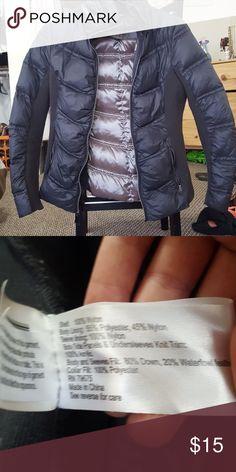 Puff Jacket See pictures for materials. Aqua Jackets & Coats
