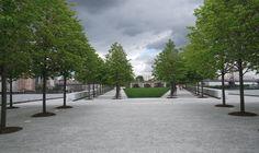 green infrastructure, Roosevelt Island, New York Roosevelt Island, Sidewalk, New York, Space, Green, Floor Space, New York City, Walkways, Nyc