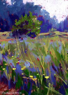 ❀ Blooming Brushwork ❀ - garden and still life flower paintings - Marla Laubisch