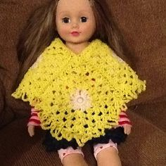 American Girl poncho