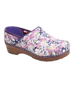 Take a look at this Purple Amanda Vegan Professional Clog - Women by Sanita on #zulily today!