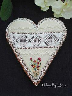 Heart Cookies, Pot Holders, Potholders