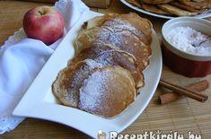Almás palacsinta | Receptkirály.hu French Toast, Bread, Breakfast, Food, Morning Coffee, Brot, Essen, Baking, Meals