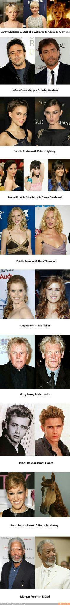 Celebrity look alike / iFunny :)