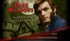 """The ghost of Quentin Collins has taken shelter on Amazon Prime, bringing with him most of his troubled family. """"Dark Shadows: The Haunting of Collinwood,"""" a three-hour DVD edit from 2009, is now streaming in its entirety from Prime members. The movie compiles key moments from episodes 639-694 of DARK SHADOWS, the storyline that first introduced David Selby to the cast."""