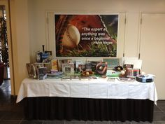 April Display Table in Northport