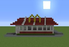 McDonald's Restaurant - GrabCraft - Your number one source for MineCraft buildings, blueprints, tips, ideas, floorplans!