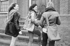 Nice women, leather and fur bags, My Deerest Shopper