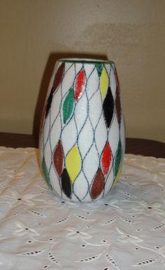 Vintage Mod Italian Pottery Vase.1950's