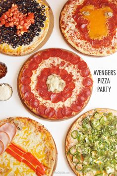 Surprise your superhero with an Avengers pizza party!