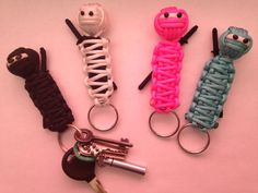 Paracord Ninja Keychain by NinjaCord on Etsy