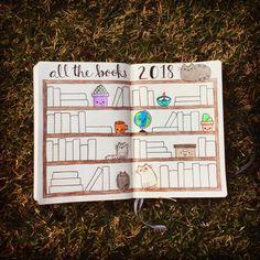 Book Bujo Book Shelf Bullet Journal Pusheen Stormy Pip Grumpy Cat Kawaii #bujo #bujolife #bujolove #bookishbujo #bujoinspire #somanybookssolittletime #TBRlist #TBRpile #allthebooks #readmorebooks #bujocommunity #bulletjournal
