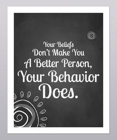 'A Better Person' Print by Posie & Co.