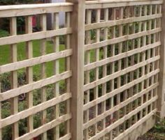 Superb GO SLOW, CHOOSE TOP AND BOTTOM FINISHING PIECES, CAP ON TOP TOO, LARGE  SQUARE LATTICE NOT DIAGONAL | Pinterest | Trellis Panels, Fences And  Backyard