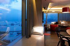 W Hotel room - West Kowloon