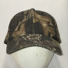2cc0db78a0ba9 Mossy Oak Camo Hunting Hat Blank Baseball Cap Cool Dad Caps Vtg Snapback  Hats Brown Green Camouflage Outdoor Sports Gifts For Men T123 A9069