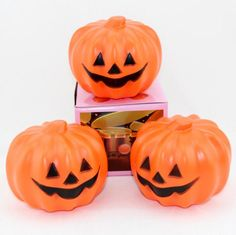 New Party Carnival Party Jack O Lantern Led Pumpkin Night Light Halloween Decoration Props Pumpkin Night Lamp Plastic Wholesale From Techemall, $1.41 | Dhgate.Com