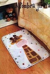 Resultado de imagem para tapete patchwork infantil