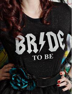 Alternative Bride Tee, Rocker Bride Collection, Glitter Bride Tshirt, Glitter…