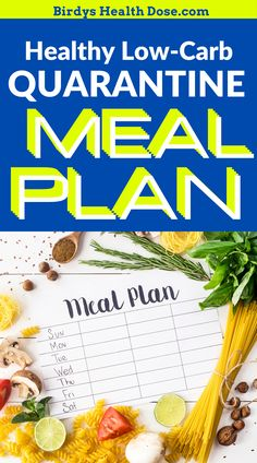 Eating healthy under quarantine is doable! I want to show you guys my quarantine meal plan with simple, tasty and healthy recipes ideas you can cook, and your whole family can eat.